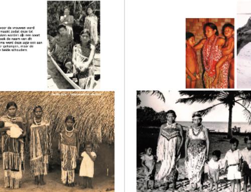 Traditionele klederdracht in Galibi