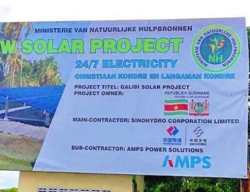 Solarpark in Galibi