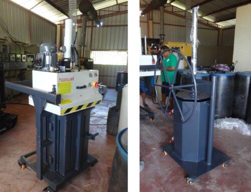 Afvalpersen in Galibi worden geïnstalleerd